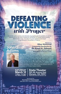 Defeating Violence with Prayer - a free talk