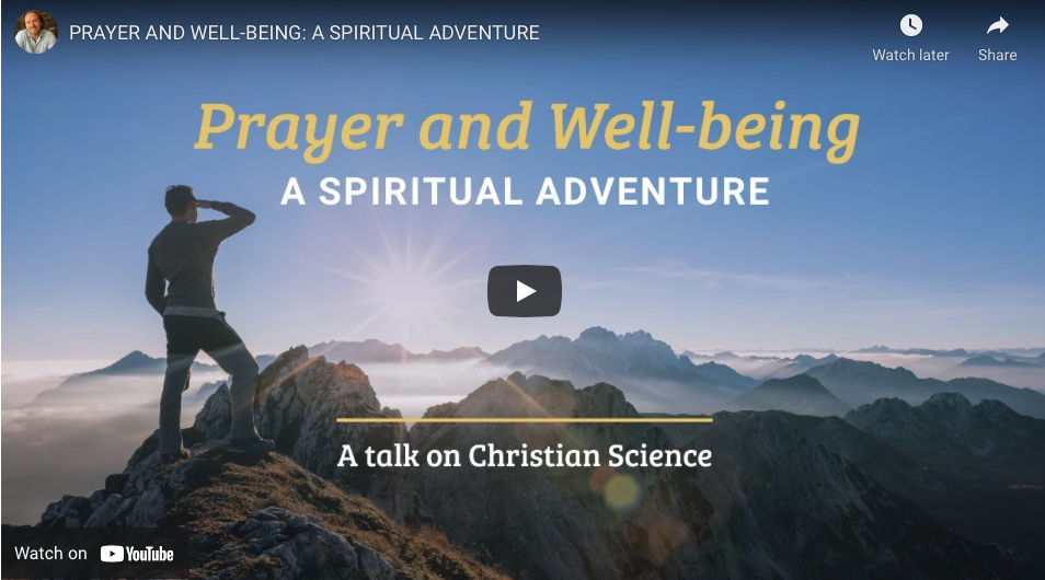 A Spiritual Adventure: a Christian Science Lecture
